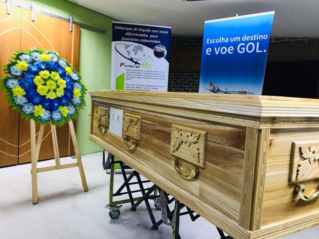 transporte aereo funerario